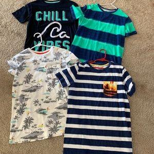 Bundle 14/16 kids 4 shirt boys